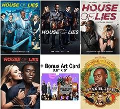 House of Lies: Complete TV Series Seasons 1-5 DVD Collection + Bonus Art Card