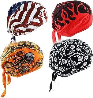 Cycling Doo RAG Skull Cap Hat Bandana Head Wrap Breathable Helmet Liner