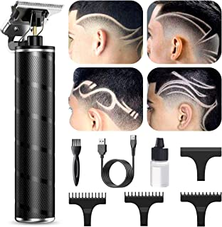Electric Pro Li Outliner, TKTK T-Blade Trimmer Hair Clippers for Men, Rechargeable Cordless 0mm...
