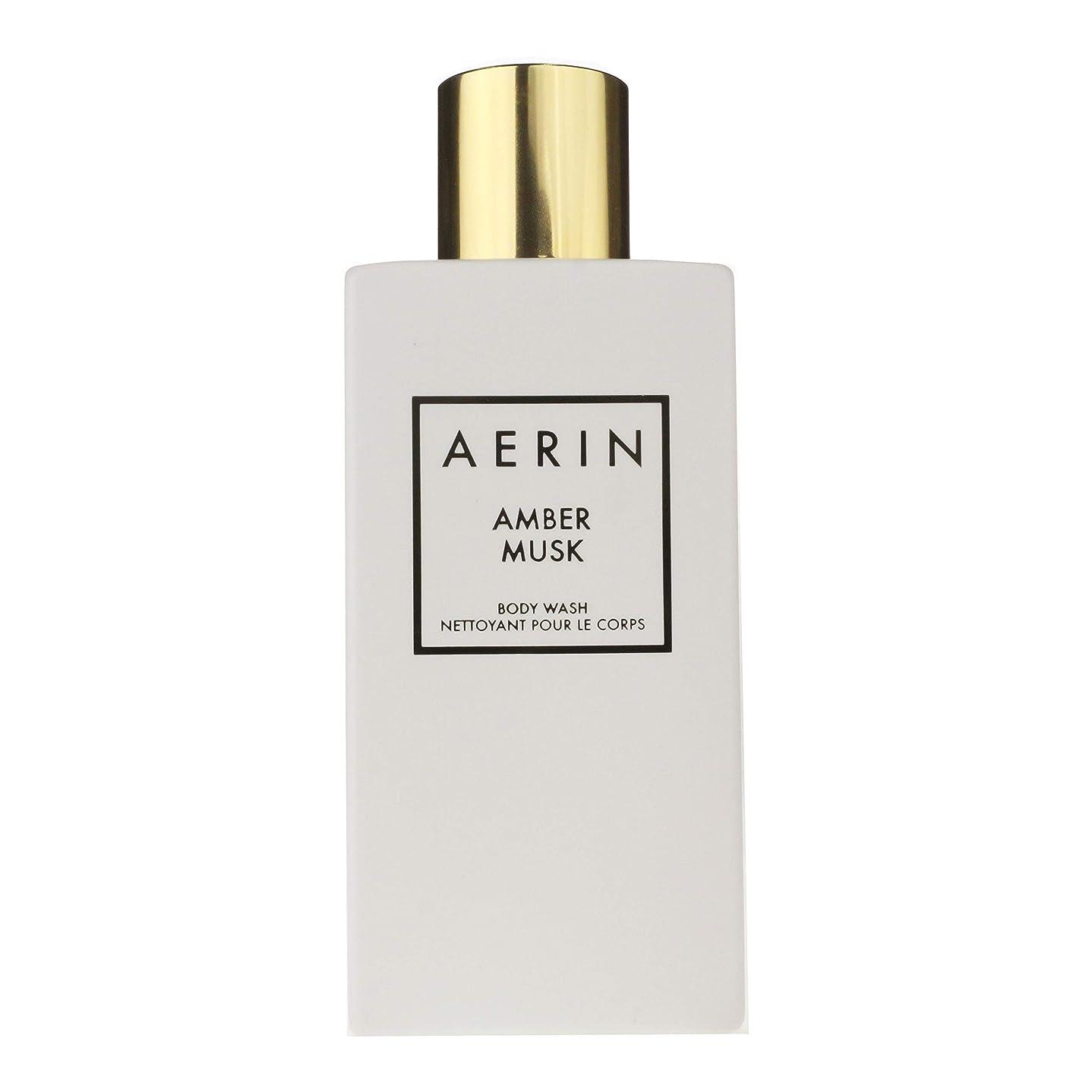 有毒適切に正統派AERIN 'Amber Musk' (アエリン アンバームスク) 7.6 oz (228ml) Body Wash ボディーウオッシュ by Estee Lauder