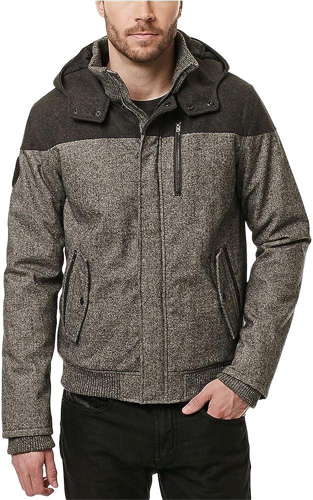 Buffalo David Bitton Men's Jutanel Wool Hooded Fashion Jacket