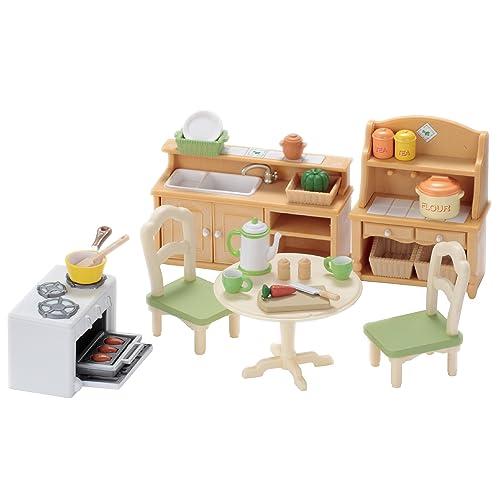 Sylvanian Families - 2951 - Set Cuisine - Poupées et Accessoires - Sylvanian