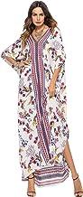 Vestido Largo Verano Mujer Bohemio Maxi Dress Camisolas y Pareos Traje de Baño Bikini Cover Up