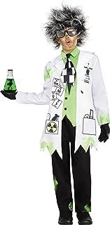 Fun World Mad Scientist Costume, Small 4 - 6, Multicolor