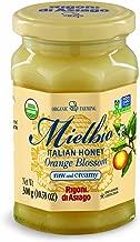 Rigoni di Asiago Mielbio Organic Italian Raw and Creamy Honey, Orange Blossom, 6 Count
