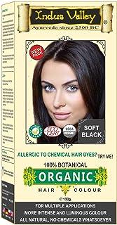 Indus Valley Botanical Soft Black Hair Colour For Hair Nourishment & Scalp Treatment
