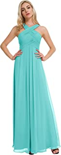 Chiffon Bridesmaid Dresses Long Formal Dresses Prom Evening Gown