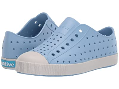 Native Kids Shoes Jefferson (Little Kid/Big Kid) (Washed Blue/Tundra Grey) Kid