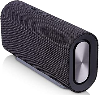 TDCQQ [Upgraded] Portable Bluetooth Speaker with 10W Stereo Sound, Bluetooth 4.2, Bassup, 8-Hour Playtime, Wireless Stereo Pairing, Speaker for Home, Outdoors, Travel