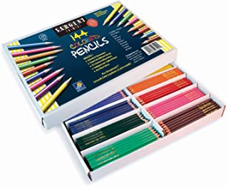 Sargent Art 144-Count Colored Pencil Class Pack, Best Buy Assortment, 22-7201