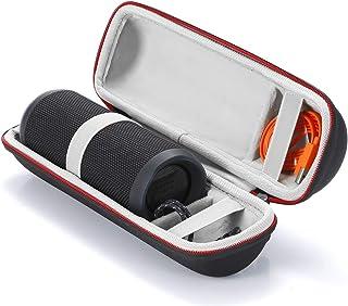 L3 Tech Étui Rigide Housse de Transport pour JBL Flip 4 / JBL Flip 3 sans Fil Enceinte Portable Bluetooth,Adapté au câble ...