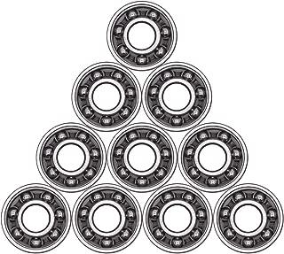 Antrader 10Pcs 608 Steel Ball Bearing 8mm x 22mm x 7mm High Precision Rating Fidget Spinner Bearing
