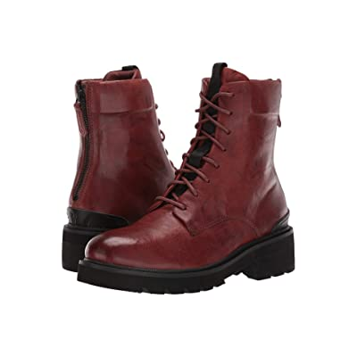 Frye Allison Combat (Cognac Antique Soft Vintage) Women