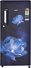 Whirlpool 190 L 3 Star Direct-Cool Single Door Refrigerator (205 IMPOWERCOOL PRM 3S SAPPHIRE RADIANCE-E, Sapphire Radiance) (Without Drawer)