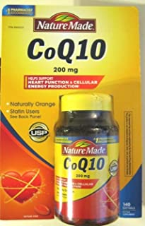 Nature Made 莱萃美 CoQ10 200 mg 140 Softgels