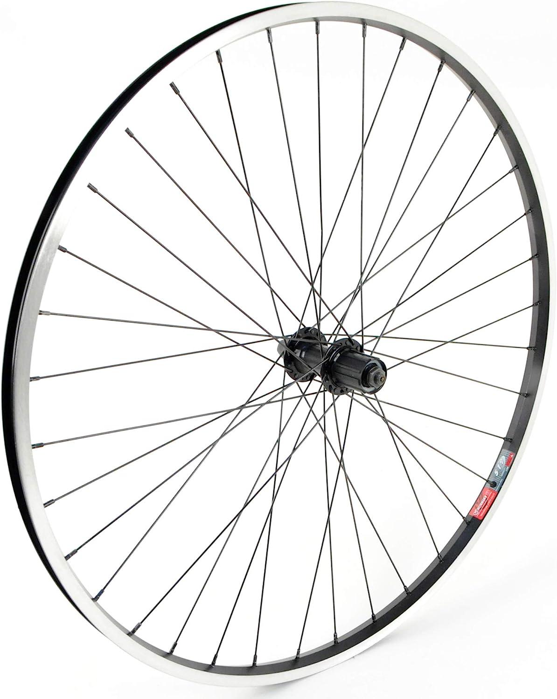 Max 82% OFF Weinmann 519 Rear Limited price Wheel 700c x 35 36H Cassette Bla 8-Speed QR