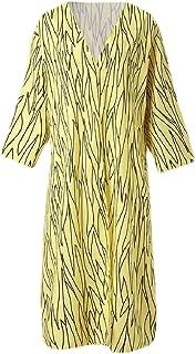 Womens Kimono Coverups Striped Open Front Long Cardigan