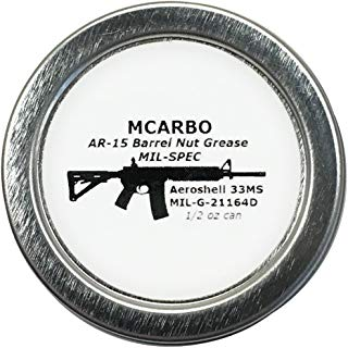 Aeroshell 33ms / MIL-G-21164D / MIL-SPEC Barrel Nut Thread Grease + 1/2oz can
