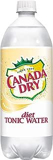 Diet Canada Dry Tonic Water, 1 L bottle