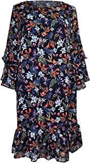 Amazing Grace Elephant Co. Women's Flirty Summer Loose Fit Tunic Dress