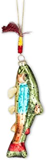 Abbott Collection 27-Heritage/Fish Trout W/Fly Ornament-6.5