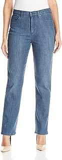 Gloria Vanderbilt Amanda Stretch Plus Size Denim Sparrow Wash Jeans (24W Short X 29)