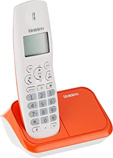 Uniden AT4101, Colour Design Cordless Phone, Orange