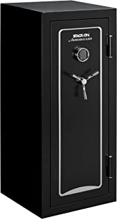 Stack-On A-24-MB-E-S Armorguard 24-Gun Safe with Electronic Lock, Matte Black