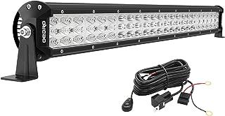 OEDRO LED Light Bar 22 Inch 479W 52690LM Triple Row Work Light Spot Flood Combo Off Road Light LED Driving Fog Lights Boat Lighting for UTV ATV Jeep Truck SUV w/Wiring Harness, 3 Years Warranty