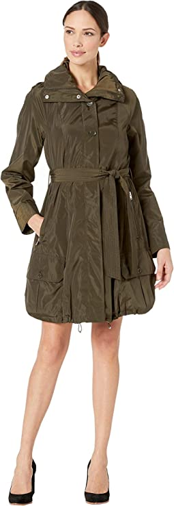 Navarre Bubble Trench Coat w/ Hood