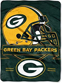 "Officially Licensed NFL ""Prestige"" Plush Raschel Throw Blanket, 60"" x 80"""