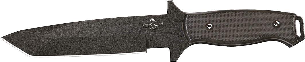 product image for Bear Ops Black Bear Tac Epoxy Powder Coated Sheath Knife