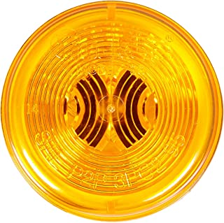 "Truck-Lite Model 30 Marker Light Yellow 2"" Round 30200Y"