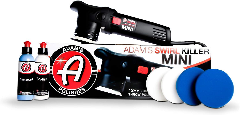 Adam's Swirl Killer Quality inspection 12mm Car Buffer Polisher Award-winning store Kit - Orbital Polis
