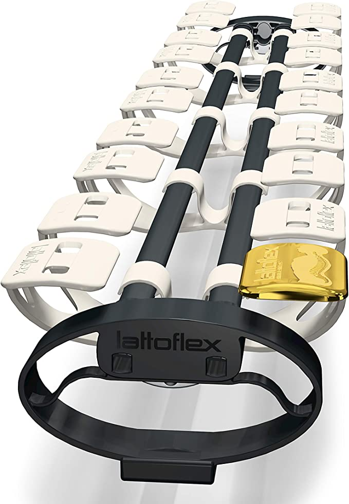 Lattoflex Colchón somier 200 muelles integrados 100 x 200 cm ...