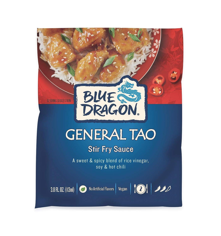 Blue New Orleans Mall Dragon General Tao Stir Fry Max 50% OFF Sachet Oz Sauce 3.8