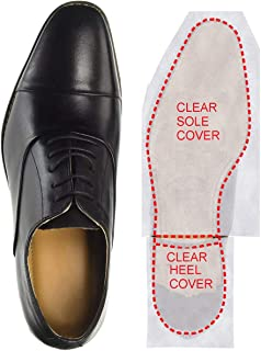 Clear Self-Stick Pads Sole Protector Shoe Cover for Louboutin Heels, Men's Shoes