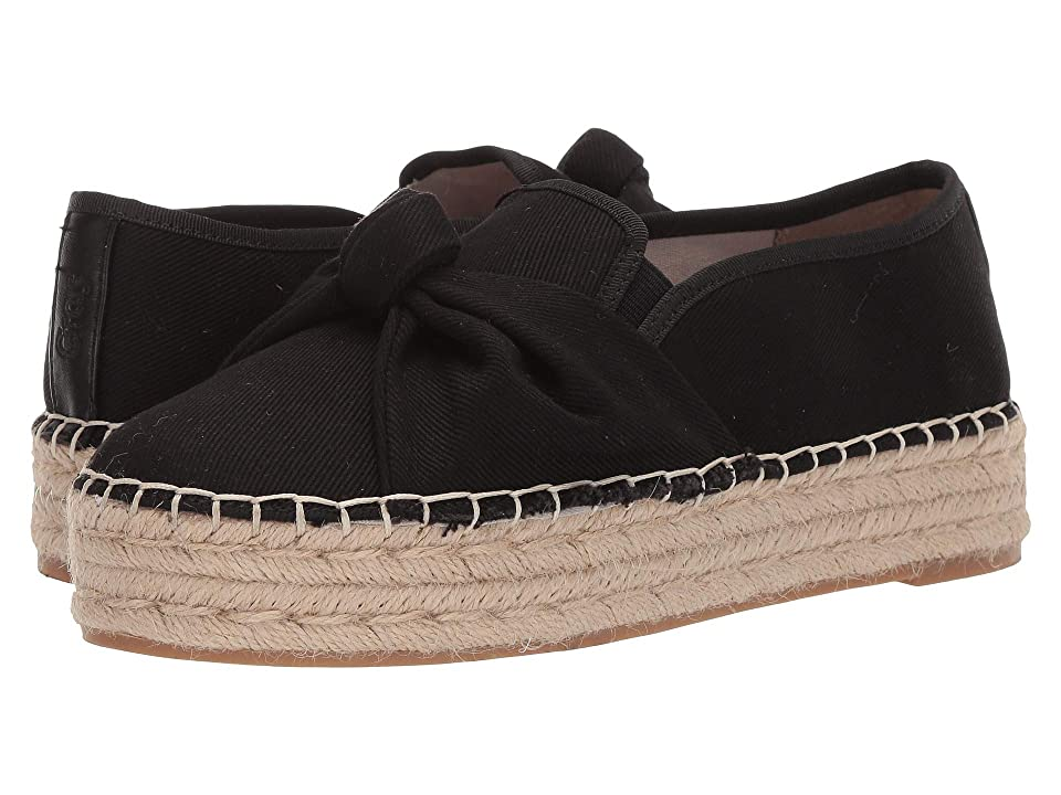 Circus by Sam Edelman Columbia (Black Textured Woven Canvas) Women