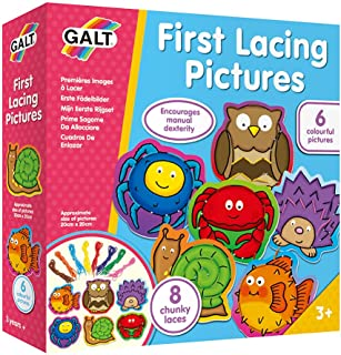 Galt First Lacing Pictures Kit - 6 Pictures