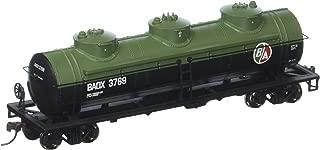 Bachmann Industries 3769 British American Oil #Baox 40' Three-Dome Tank Car (HO Scale Train)