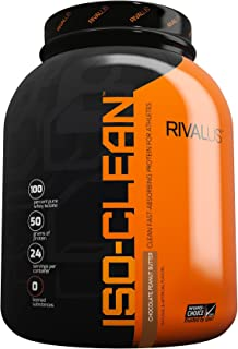 Rivalus Iso-Clean Protein Powder Blend, Chocolate Peanut Butter, 3.5 Pound