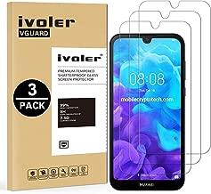 VGUARD [3 Pack Pellicola Vetro Temperato per Huawei Y5 2019 / Huawei Honor 8S [Garanzia a Vita], Pellicola Protettiva Protezione per Schermo per Huawei Y5 2019 / Huawei Honor 8S
