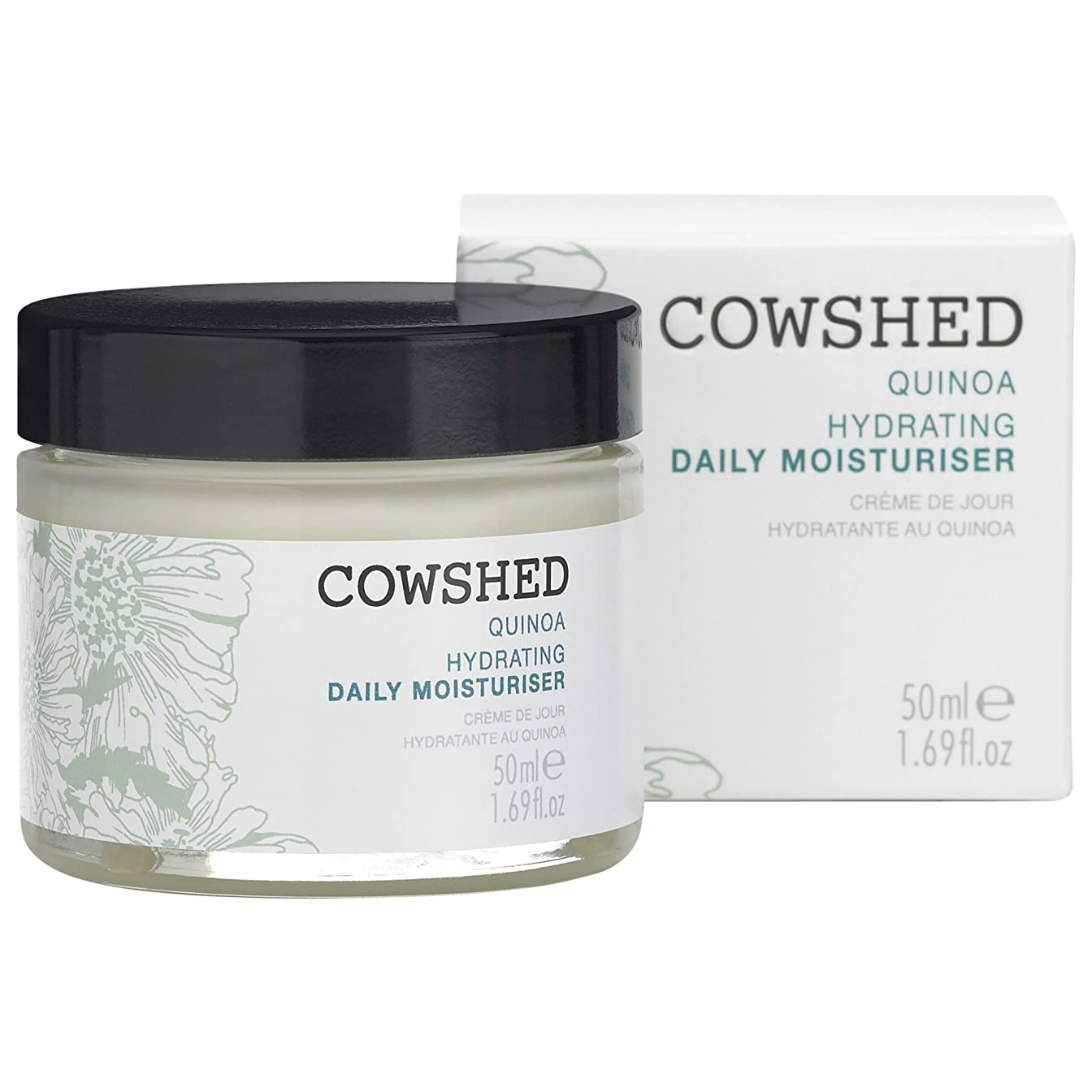 スクレーパー禁じる電圧牛舎キノア水和毎日の保湿クリーム50Ml (Cowshed) - Cowshed Quinoa Hydrating Daily Moisturiser 50ml [並行輸入品]