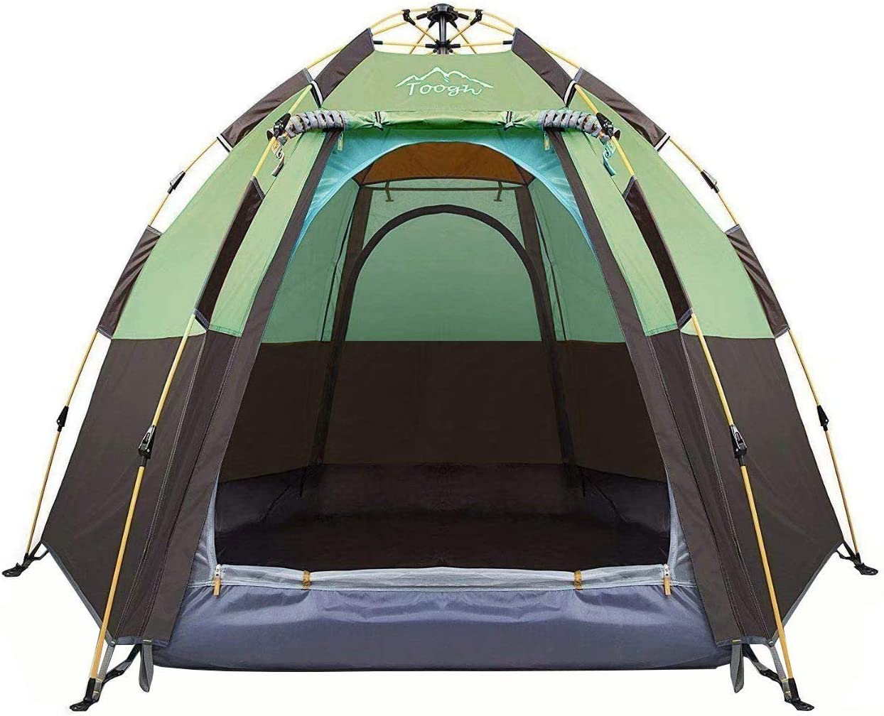 Toogh Store 3-4 Person Pop-Up Camping Tent