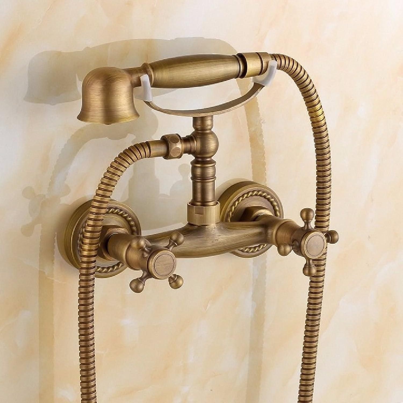 Lvsede Bad Wasserhahn Design Küchenarmatur Niederdruck Kupfer Badewanne Wasserhahn Dusche Wasserhahn Bad Warm Und Kalt Einfache Dusche Telefon Typ G3058