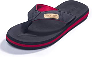 FITORY Homme Confortable Tongs été antidérapante Chaussures de Plage & Piscine Taille 39-48 EU