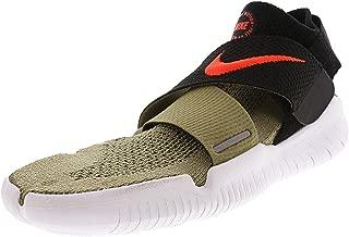 Men's Free Rn Motion Fk 2018 Neutral Olive/Bright Crimson Ankle-High Running Shoe - 9.5M