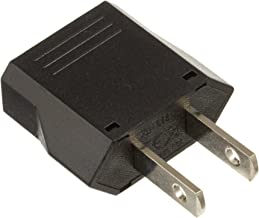 Ckitze US-2PC European to American Outlet Plug Adapter (2PCS)