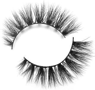 BEPHOLAN Mink Lashes| 100% Siberian Mink Fur Lashes| Natural Flare Look| 3D Mink Lashes| 100% Cruelty-Free & Handmade| Reuseable False Eyelashes| XMZ07