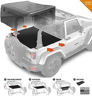 Amazon com: jeep wrangler cargo cover